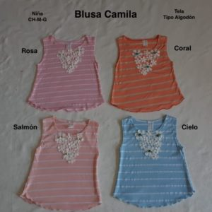 Blusa Camila