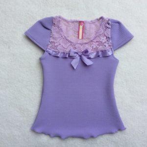 Blusa Para Niña Fany Lila